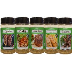 Gourmet Spice Rubs - 5